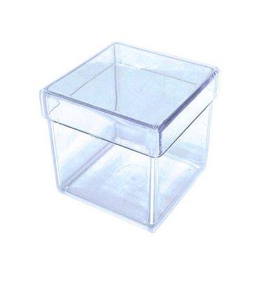 10 Caixinhas Acrílicas 4x4 - Transparentes