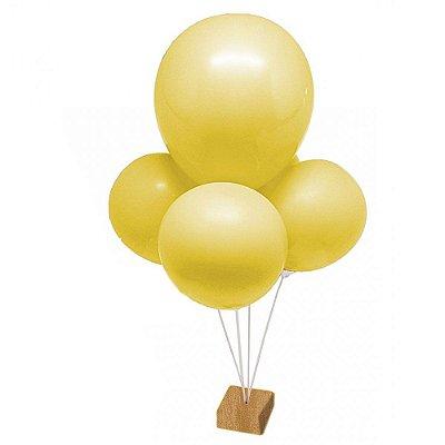 Suporte para Balão Mini 5 Hastes Suporte de mesa