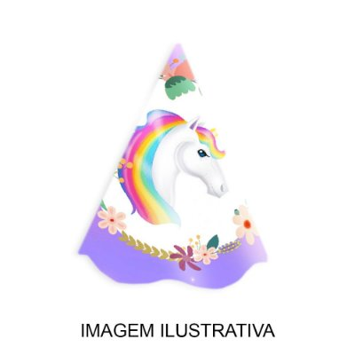 Chapéu de Festa Unicórnio