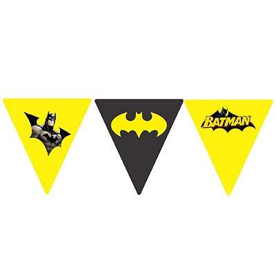 Bandeirola Batman Geek Triangular