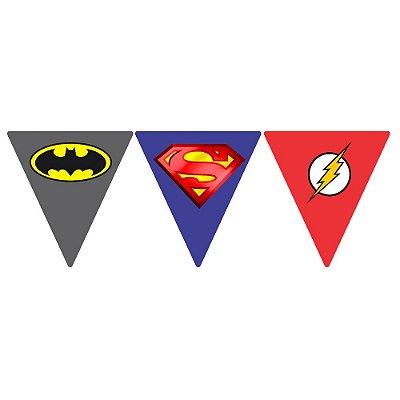 Bandeirola Liga da Justiça Triangular
