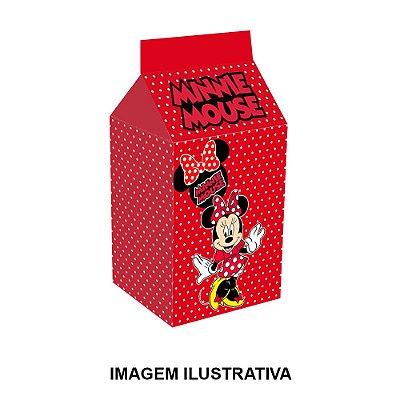 Caixinha Milk Minnie Vermelha Para Lembrancinha