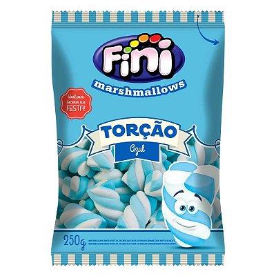 Marshmallow Fini Torção Azul 250g