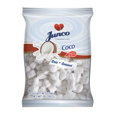 Bala de Coco para Aniversário Junco - 700g