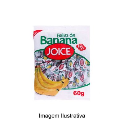 Bala de Banana Joice - 60g