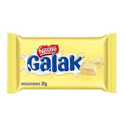 Chocolate Branco Galak Nestlé  20g - 1 Unidade