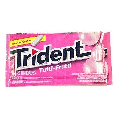 Chiclete Trident Tutti Frutti - 1 Unidade