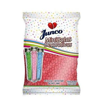 Mini Balas Decorativas Junco Vermelho Sabor Melancia 500g