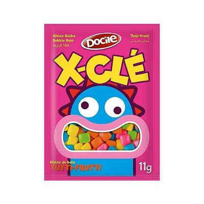 Goma de Mascar X-Clé Tutti Frutti Docile 11g - 1 Unidade