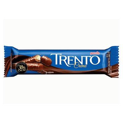 Chocolate Trento Rechado Sabor Creme com 2 Unidades