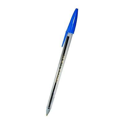 Caneta Esferográfica Azul Compactor Economic - 1 Unidade