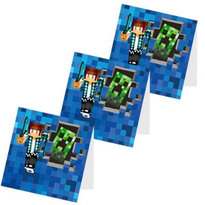 12 Capas de Pirulito Authentic Games Minecraft