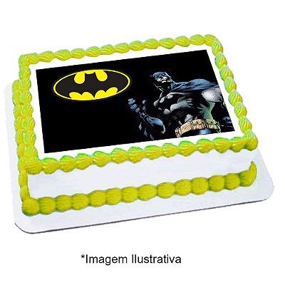 Papel de Arroz Batman Geek 28x20cm - 1 Unidade