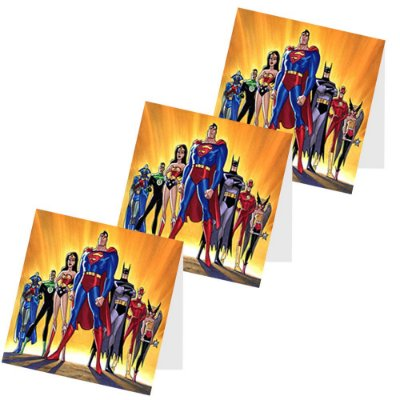 12 Capas de Pirulito Liga da Justiça