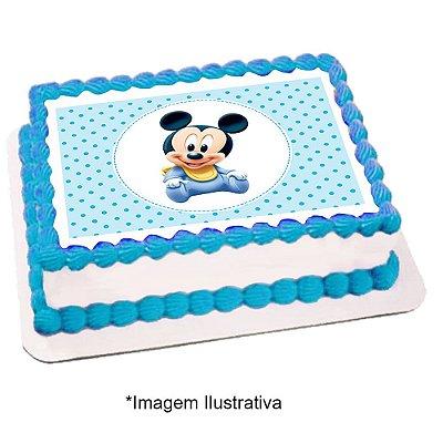 Papel de Arroz Mickey Baby 28x20cm - 1 Unidade