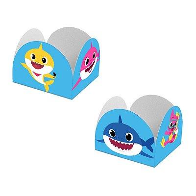 20 Forminhas de Doces Caixeta Baby Shark