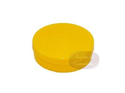 Latinhas de Plástico Mint to Be 5,5x1,5 cm Amarela - Kit com 50 unids