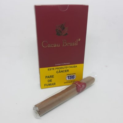 CHARUTO CACAU BRASIL - CONHAQUE