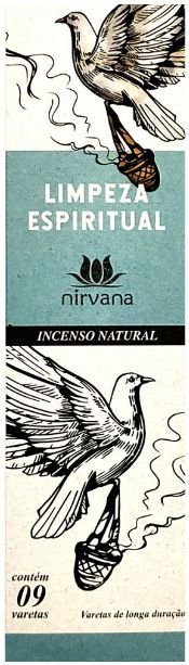 INCENSO NATURAL LIMPEZA ESPIRITUAL