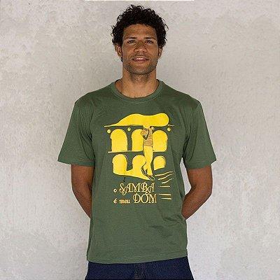 Camisa O Samba é meu Dom
