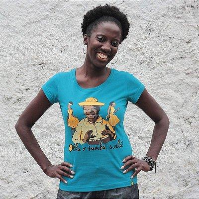 Camisa Olha o Samba Sinhá