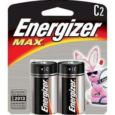 Pilha Alcalina Média Max C Energizer