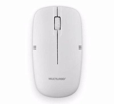 Mouse sem fio 2.4ghz branco usb