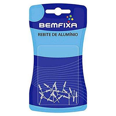 20 rebites aluminio 3,2 x 08 mm