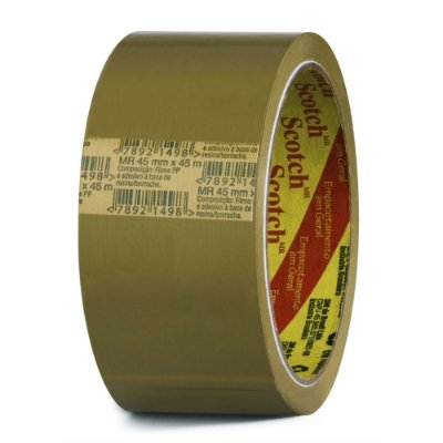 Fita adesiva empaçotamento marrom 45mm x 45m