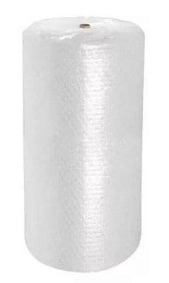 Rolo de plástico bolha com 100 metros x 1,3 metros