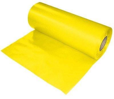 Lona plastica em metro - amarela