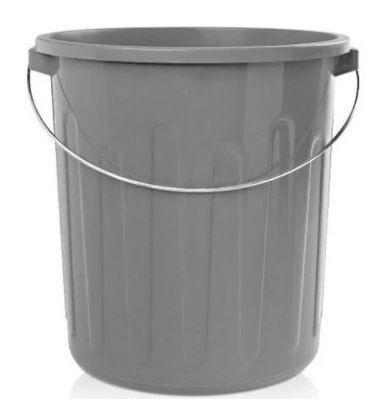 Balde plástico (alça de ferro) 30 litros