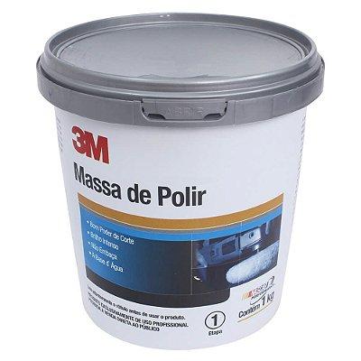 Massa De Polir Carro 1kg Polimento Profissional