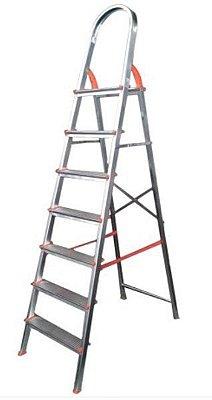 Escada de alumínio 7 degraus residencial - eds007