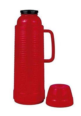 Garrafa térmica de mesa daily vermelha 1L