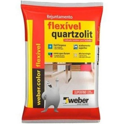Rejunte flexível cinza outono 1kg