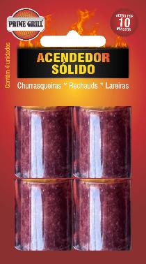 Acendedor sólido prime grill