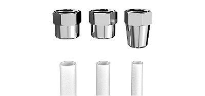 Adaptador  para filtro rosca 1/2 (dn15) (m) e espigão 1/4 (7 mm)