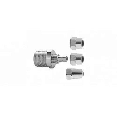 Adaptador  para filtros 1/2´´ espigao 1/4´´ 3 buc