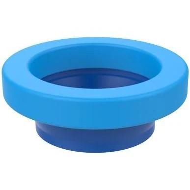 Anel vedação para bacia vaso sanitário com guia