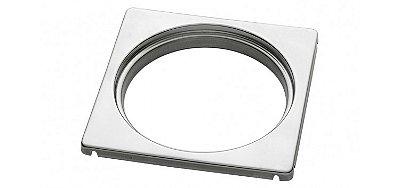 Porta grelha redonda para caixas sifonadas e ralos 15x15