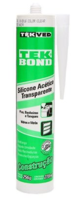 Silicone acético transparente 270ml