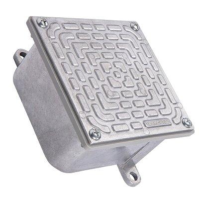 Condulete - caixa de passagem 30x30 c/tampa