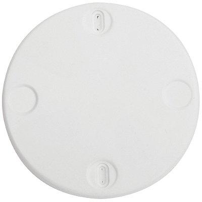 Tampa redonda para teto 4x4  branca