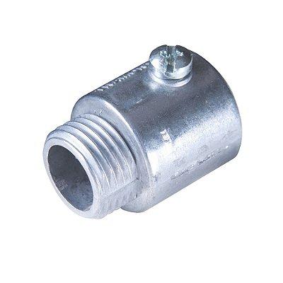 Condulete conector  reto s/rosca (1)  1/2
