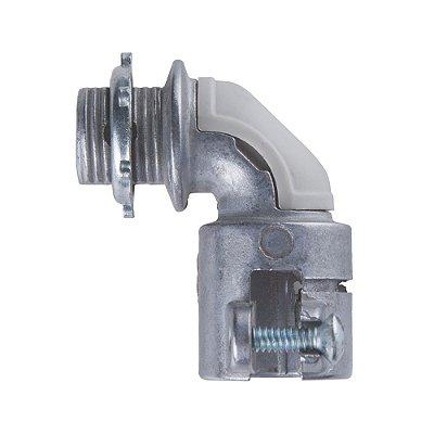 Condulete conector curvo (2) c/rosca 3/4