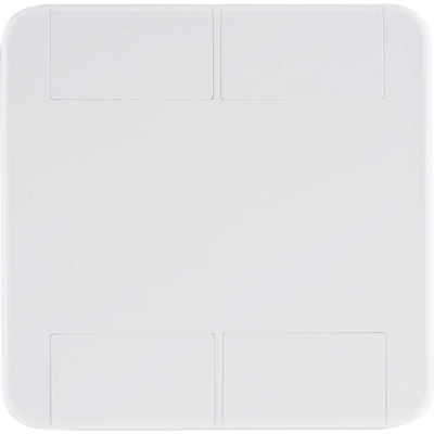 Placa cega 4x4  tablet branca