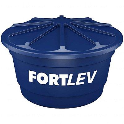 Caixa d'água com tampa 1.500 litros de polietileno - Fortlev