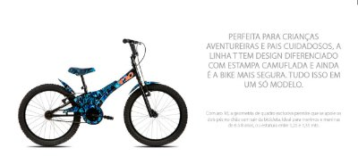 Bicicleta Infantil TITO T20 & T16