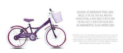 Bicicleta Infantil TITO MY BIKE 20 & 16
